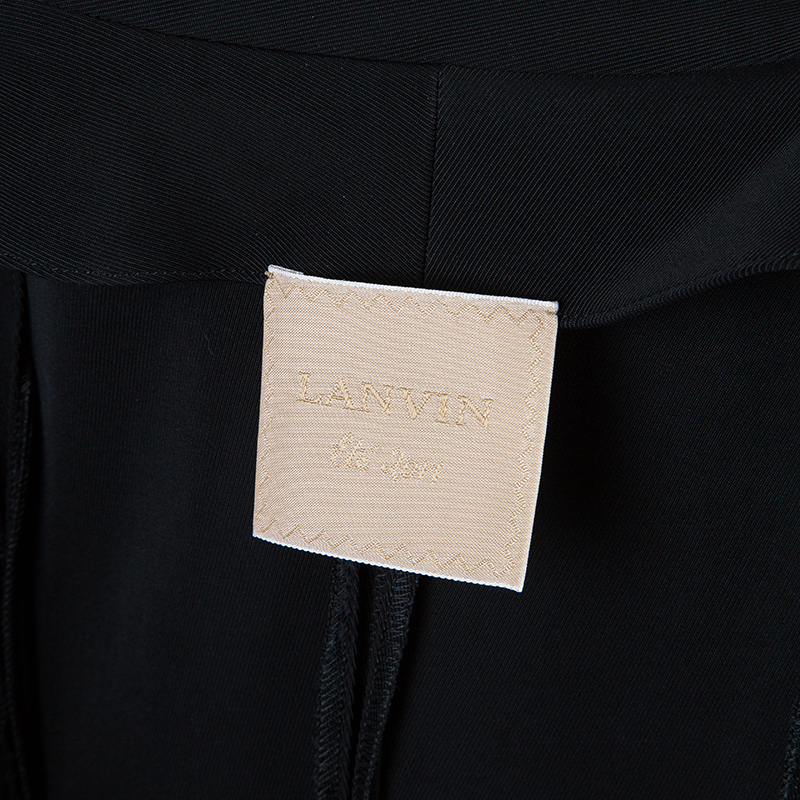 Lanvin Black Cropped Blazer M