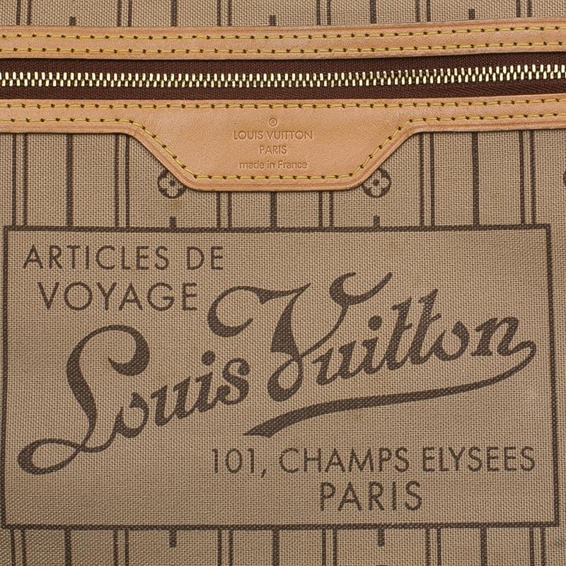 Louis Vuitton Monogram Canvas Neverfull PM Bag