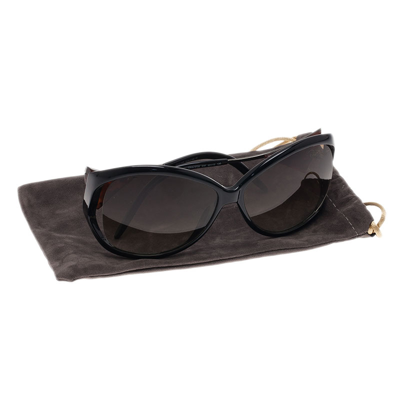 Roberto Cavalli Black Clivia 573S Sunglasses