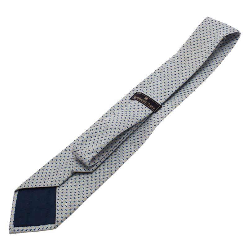 Ermenegildo Zegna Light Blue Tie