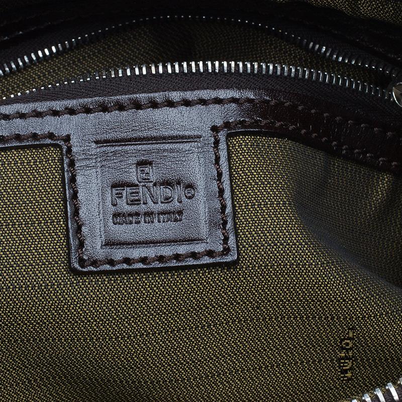 Fendi Brown Tobacco Zucca Tote Bag