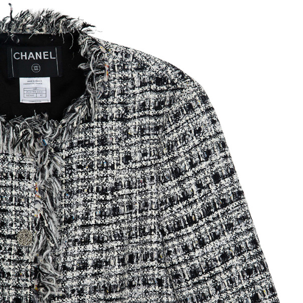 Chanel Tweed Skirt Suit L