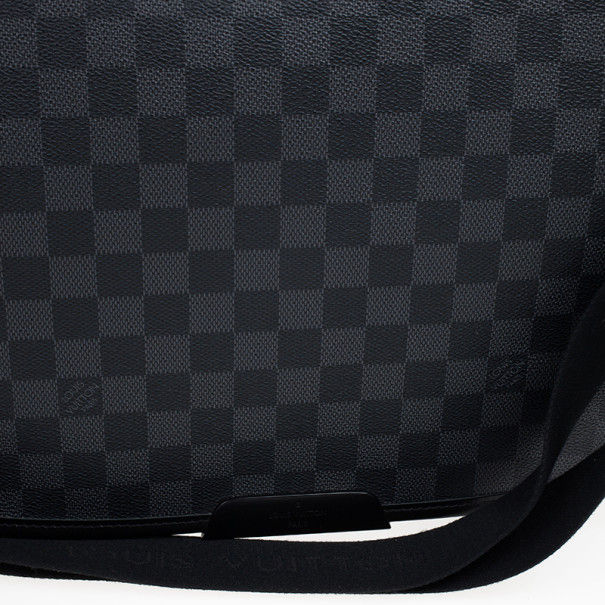 Louis Vuitton Damier Graphite Laptop Renzo Messenger Bag