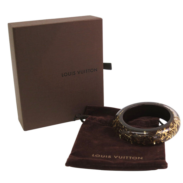 Louis Vuitton Inclusion Brown Wide Bracelet GM