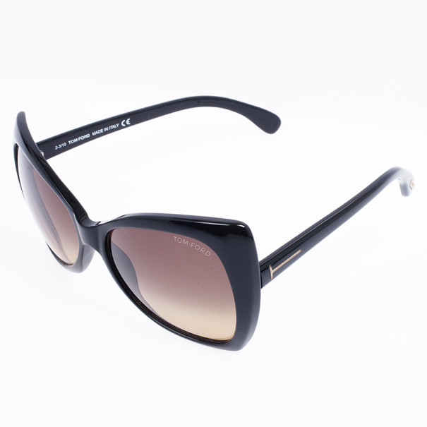 Tom Ford Black Retro Inspired Nico Woman Sunglasses