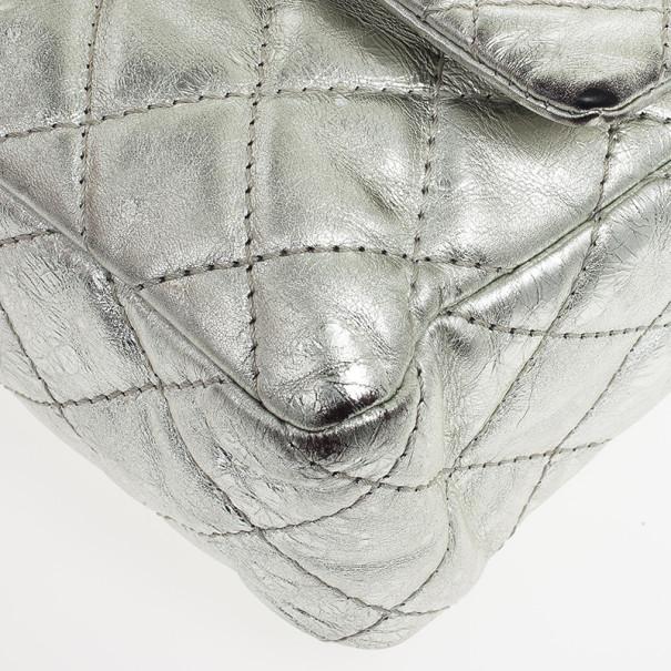 Chanel Metallic Silver Reissue Flap Bag