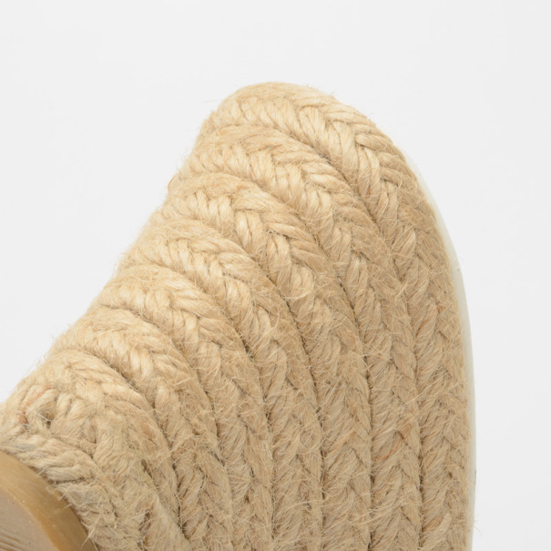 Burberry Novacheck Espadrilles Wedges Size 37