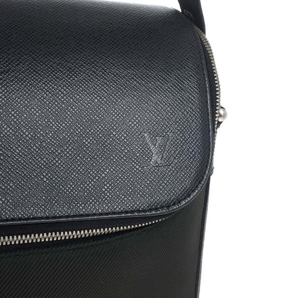 Louis Vuitton Back Taiga Taimyr Messenger Bag