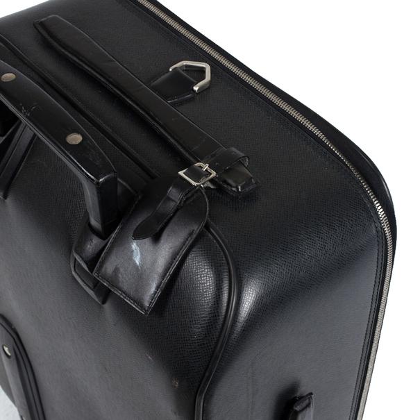 Louis Vuitton Epicea Taiga Leather Pegase 60 Rolling Suitcase
