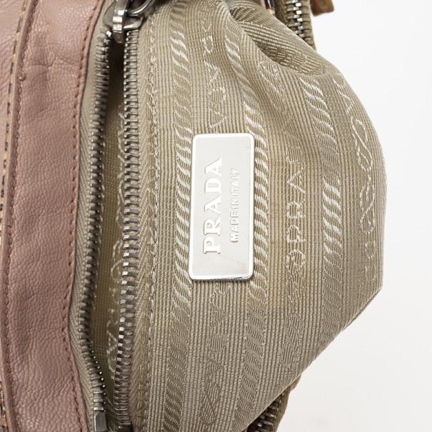 Prada Python Catena Shoulder Bag