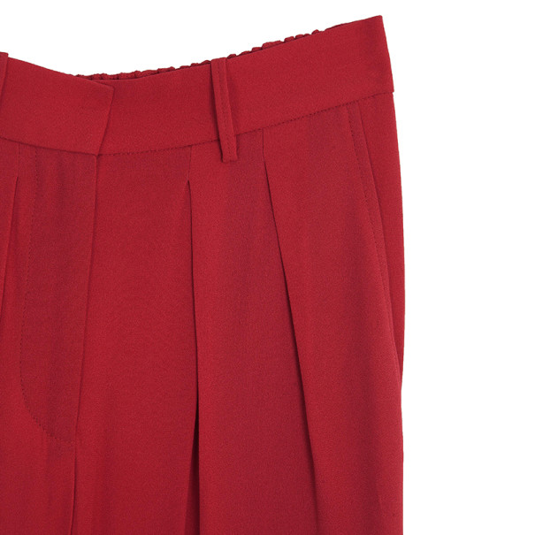 Isabel Marant Kessy Crepe Tapered Pants S
