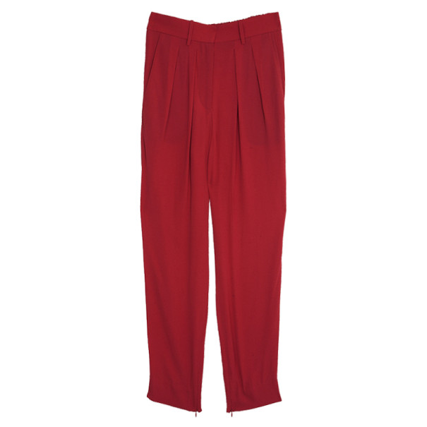 Isabel Marant Kessy Crepe Tapered Pants S