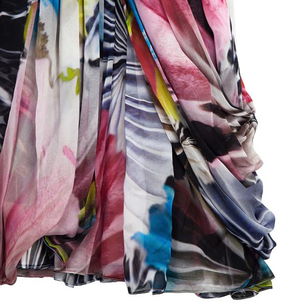 Matthew Williamson Multi-silk Printed Dress M
