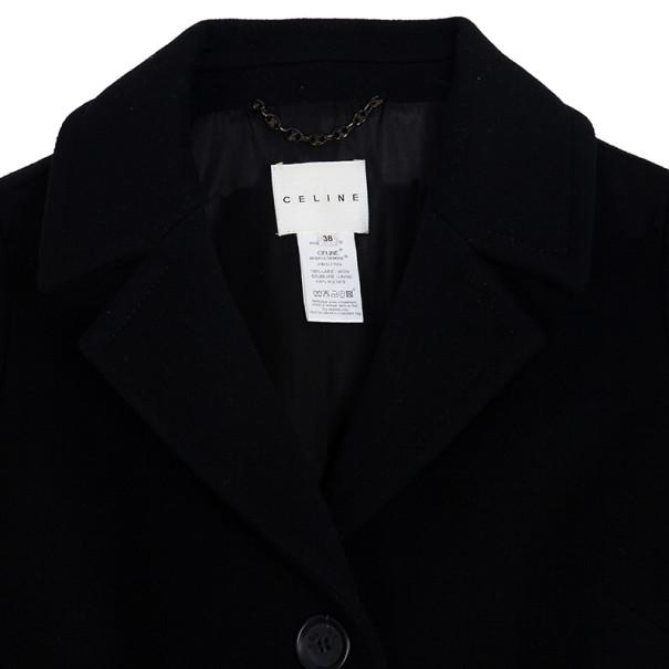 Celine Wool Trench Coat M