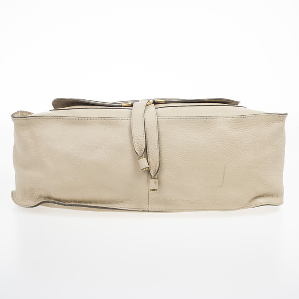 Chloe Nude Marcie Large Shoulder Bag