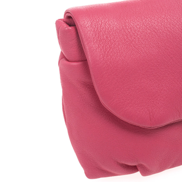 Marc by Marc Jacobs Pink linda Puckered Mouse clutch