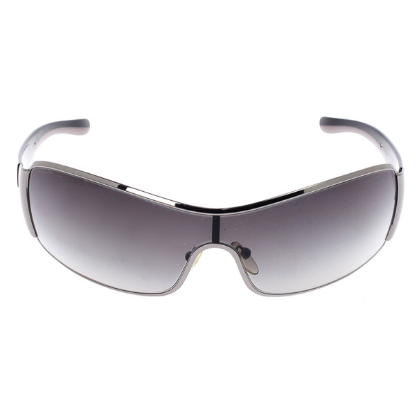 Prada Black Shield Women Sunglasses