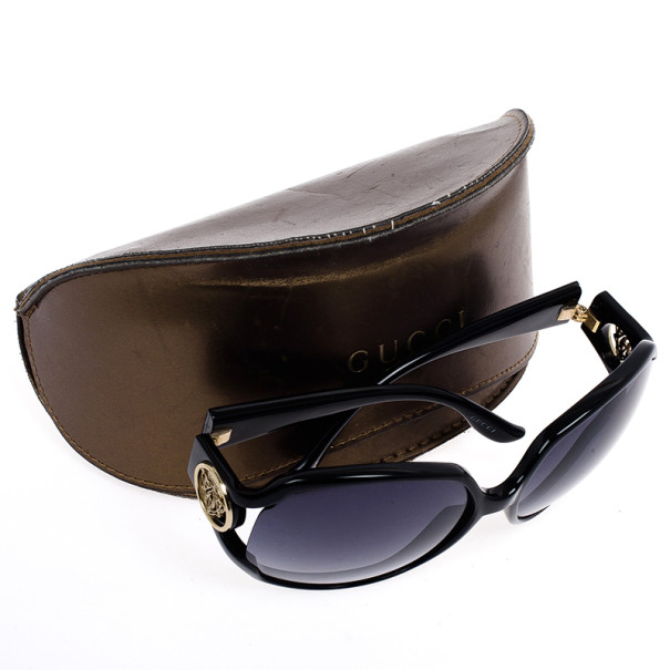 Gucci Black Hysteria Square Women Sunglasses