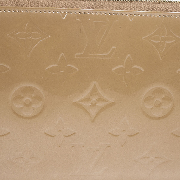 Louis Vuitton Beige Monogram Vernis Lexington Pochette Bag