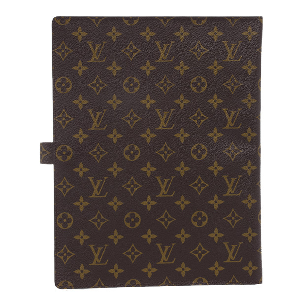Louis Vuitton Monogram Canvas A4 Bloc Cover