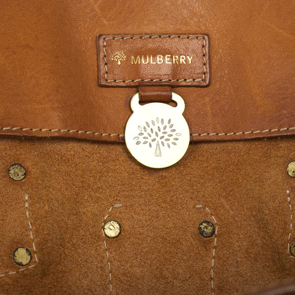 "Mulberry Roxanne "" The Hype "" Leather Shoulder Bag"