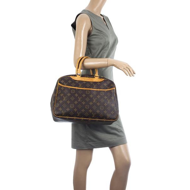 Louis Vuitton Monogram Deauville Boston Bag