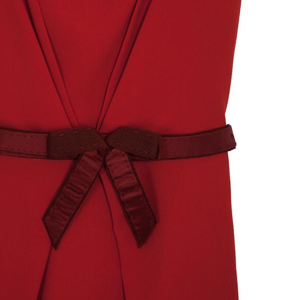 Fendi Cowl Neck Gathered Dress S
