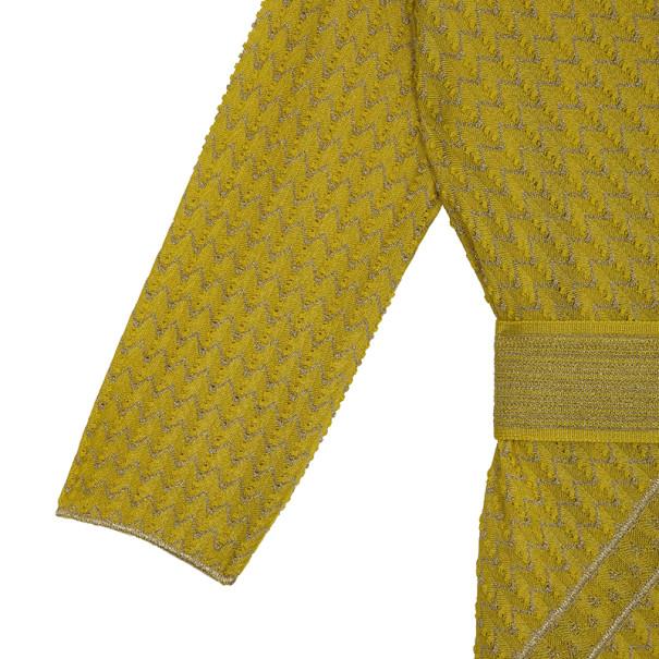 Missoni Shift Dress With Belt S