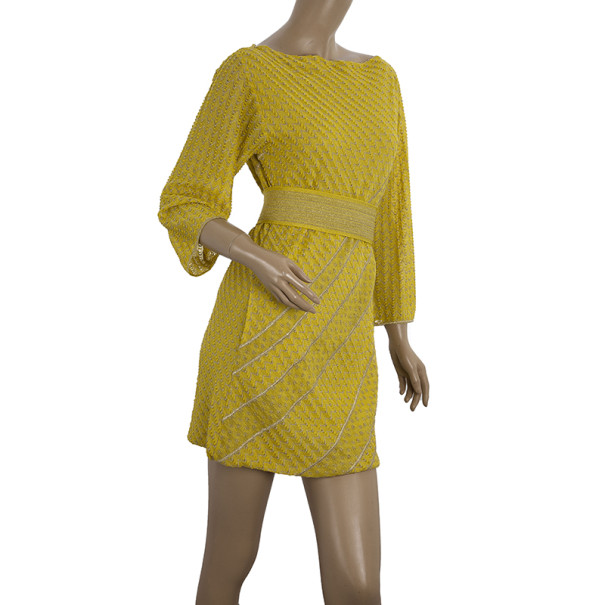 Missoni Shift Dress With Belt S