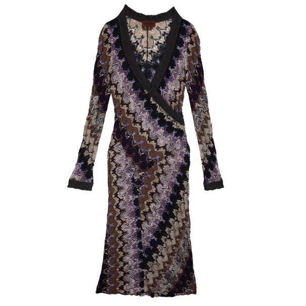 Missoni Wrap Effect Dress S