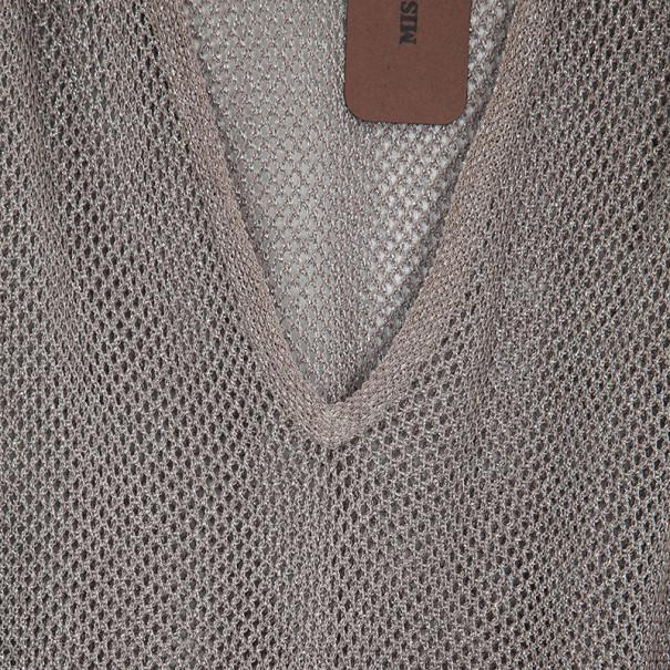 Missoni Metallic Lurex Knit Tunic S