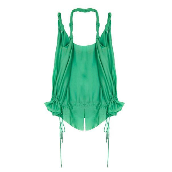 Stella McCartney Silk Drawstring Top S