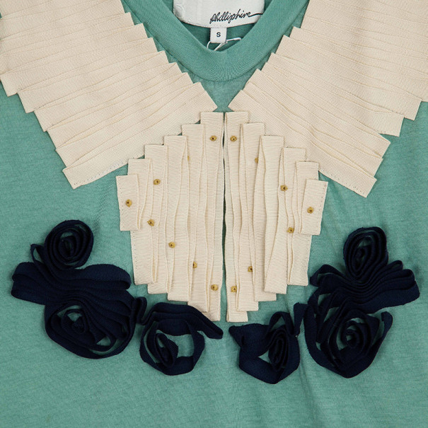 3.1 Phillip Lim Ribbon Embellished Top S