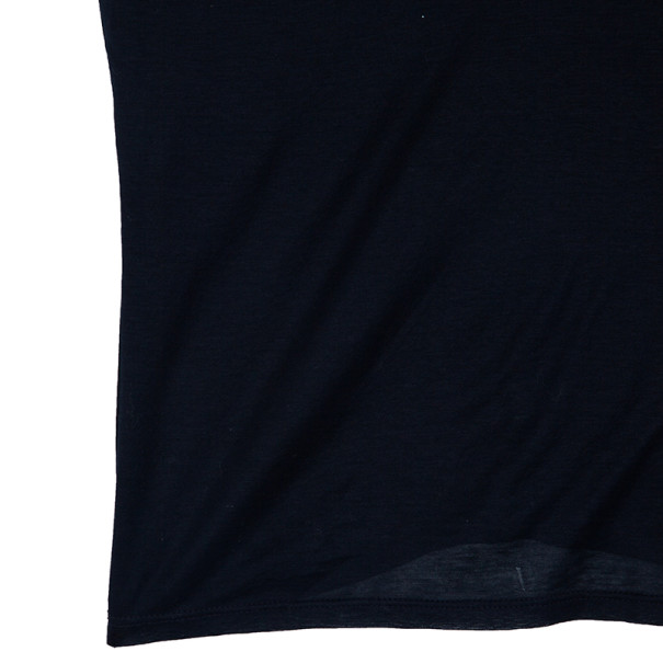 Gucci Navy Short Sleeve Top M