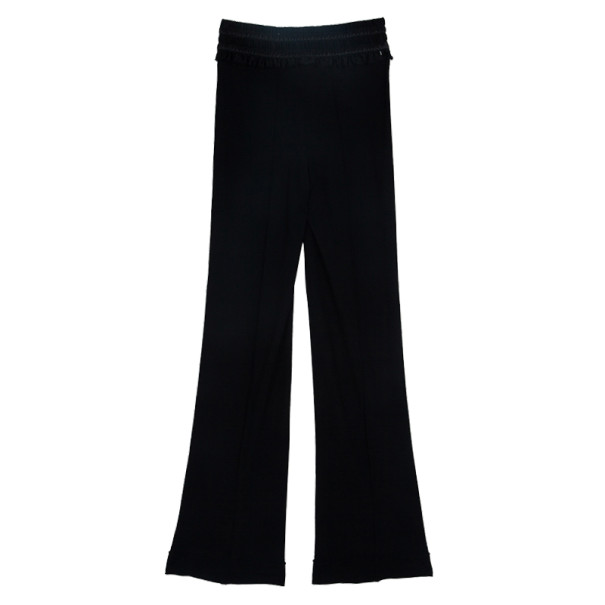 Dior Smocked Satin Belt Pants S
