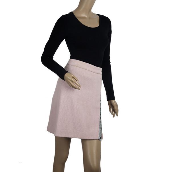 Dolce and Gabbana Swarovski Embellished Wrap Skirt S