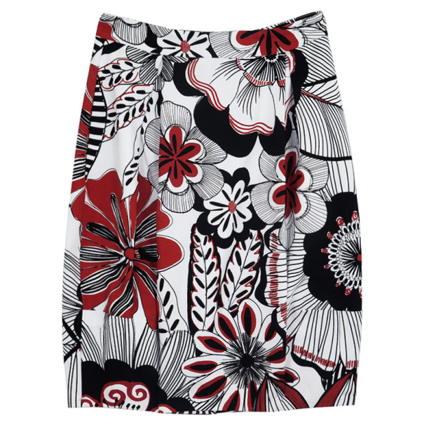 Dolce and Gabbana Floral Pencil Skirt S