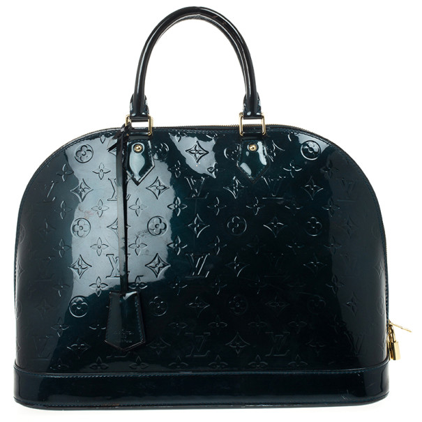 Louis Vuitton Petroleum Vernis Alma GM