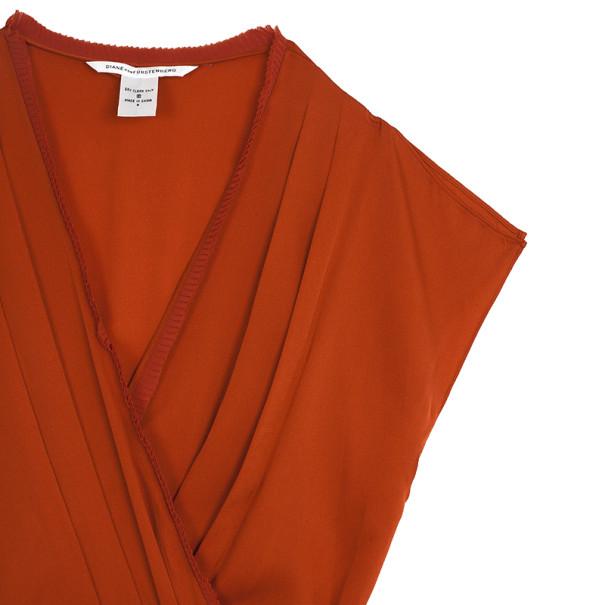 Diane Von Furstenberg Mateo Dress L