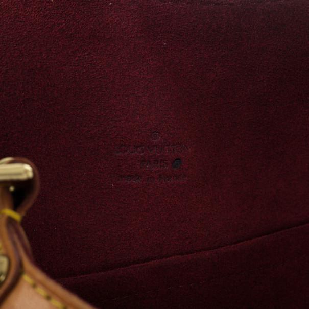 Louis Vuitton White Monogram Multicolore Theda GM Bag