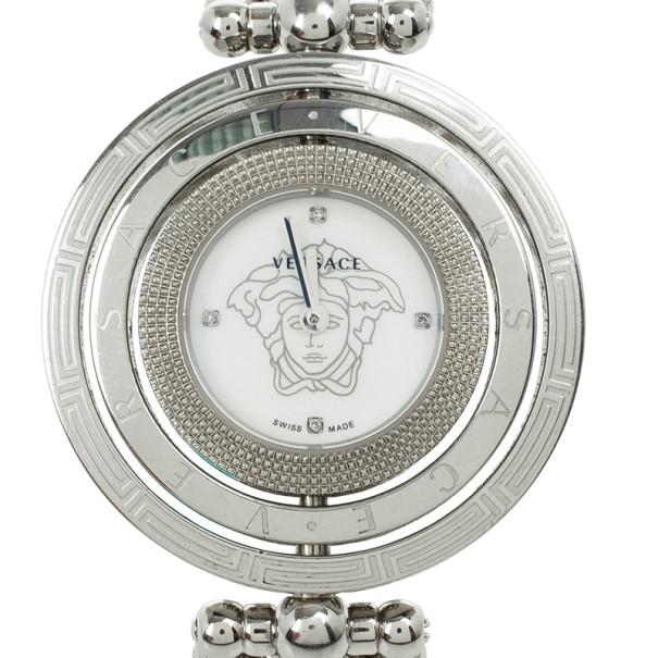 Versace Eon Stainless Steel Womens Wristwatch 25.2 MM