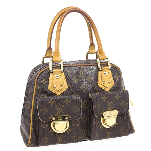 Louis Vuitton Monogram Canvas Manhattan PM Satchel