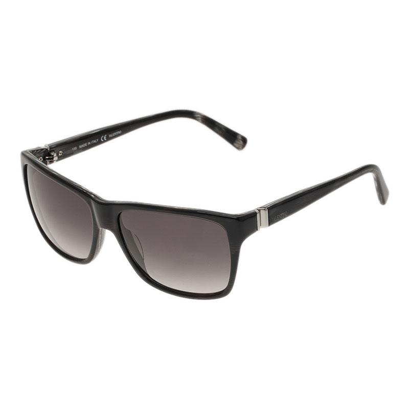 Valentino Black V629S Square Sunglasses