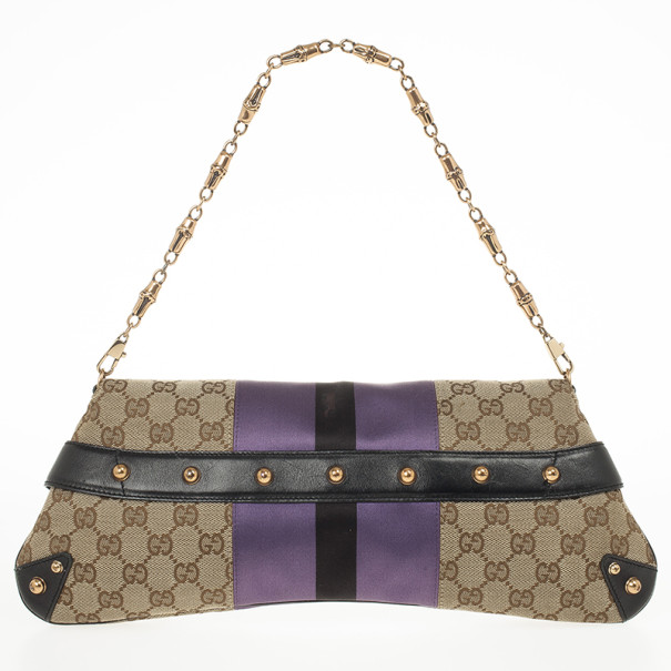 Gucci Tom Ford Monogram Horsebit Chain Clutch Bag Buy