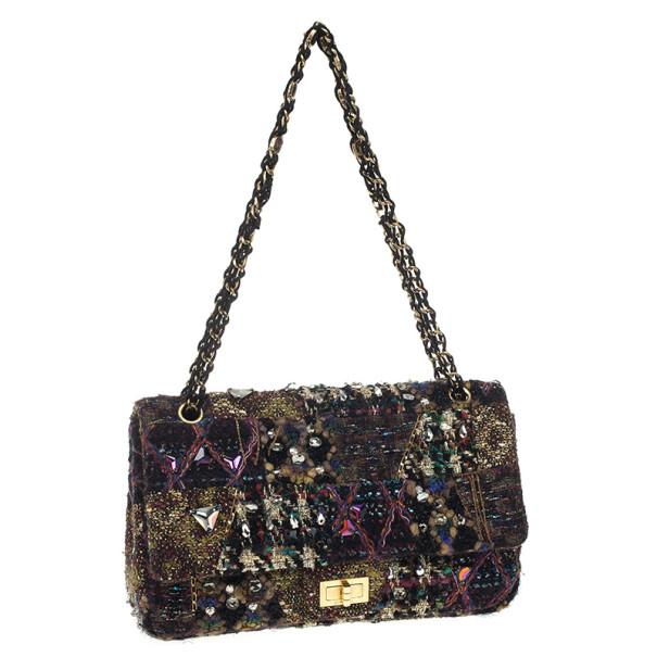 Chanel Limited Edition Paris Lesage Tweed Reissue Flap Bag