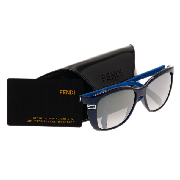 Fendi Blue FS5258 D-Frame Sunglasses