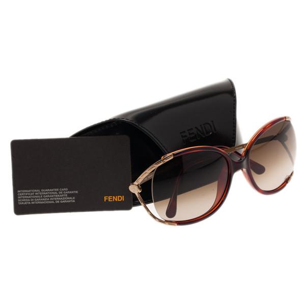 Fendi Tortoise FS5169 Square Sunglasses
