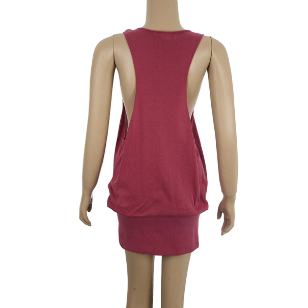 Alexander McQueen Racerback Pocketed Tunic Dress S