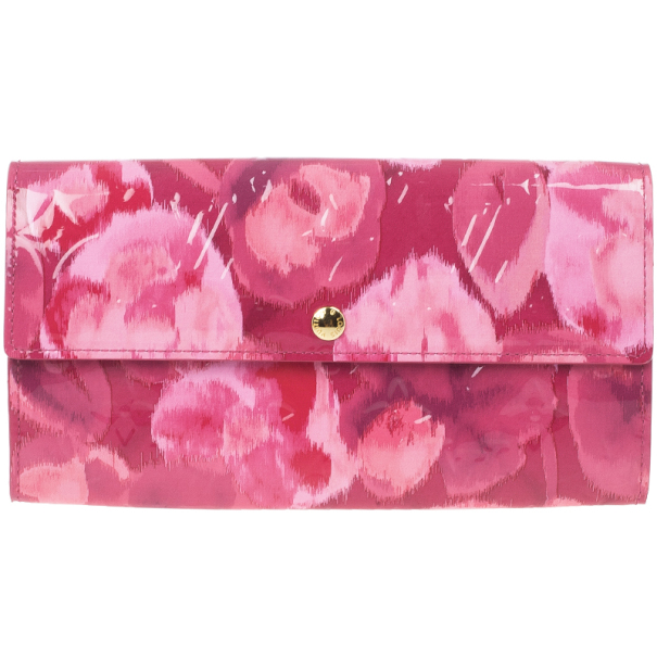 Louis Vuitton Floral Ikat Sarah Wallet
