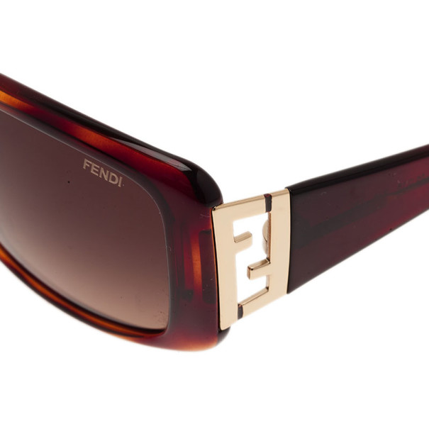 Fendi Tortoise Frame FS5291 Rectangle Sunglasses